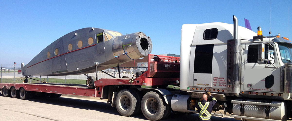 Heavy Towing with airplane