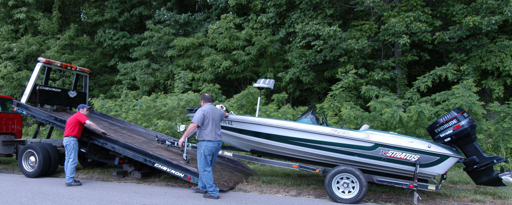 Heavy Towing Boat Rescue Flatbed Toronto