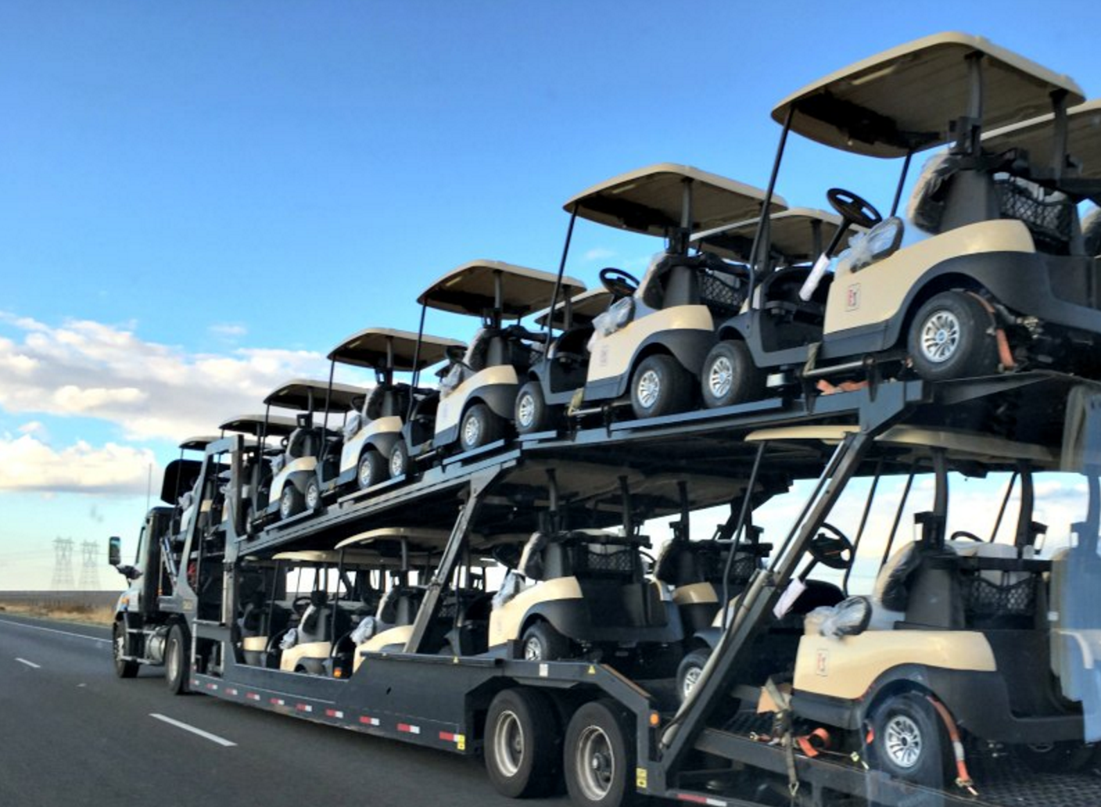 Heavy Towing golf carts multiple vehicles Toronto